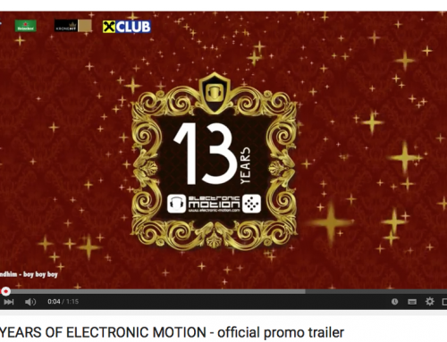 13 YEARS OF ELECTRONIC MOTION – official promo trailer